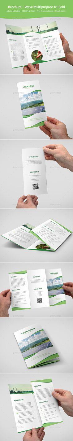 Brochure – Wave Multipurpose Tri-Fold - Corporate Brochures Download here : https://graphicriver.net/item/brochure-wave-multipurpose-trifold/19475811?s_rank=24&ref=Al-fatih