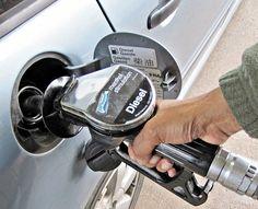diesel tag on nozzle