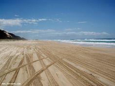 70-Mile Beach on Fraser Island