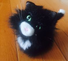 American Girl Doll LICORICE CAT Black Pet Kitten Poseable Tail Lea Retired  | eBay