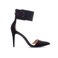 Image 1 of HIGH HEEL POINTED HEEL SHOES from Zara