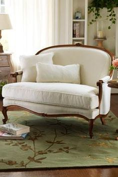 french provincial furniture | Provence Settee - Bench - Wooden Furniture - French Country Furniture ...