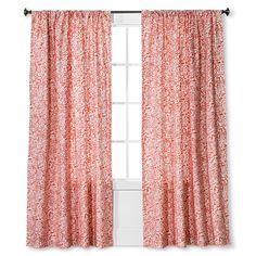 • 100% woven cotton canvas construction<br>• Floral paisley pattern<br>• Machine washable for easy care<br><br>Highlight your window and add a fresh look to your room with the Threshold Floral Paisley Curtain Panel. The repeating pattern has lasting visual appeal and looks lovely open or closed. The cotton construction is durable and machine washable, and will provide lasting style.