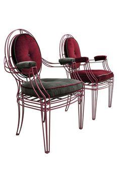 Opera-armchair-armchairs-metal-modern- casa midy