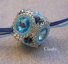 Alle meine Perlen: Crystal Ball Bead