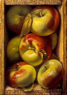 Denise Mickilowski | OIL | Lady Apples