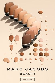 Meet your new holy grail beauty essential. Marc Jacobs Beauty introduces Shameless Youthful-look 24-H Foundation SPF 25. It's everything you've ever wanted in a foundation: medium buildable coverage with first-to-market flashback-free SPF and exceptional hydration. Available in a broad range of 29 flexible shades.