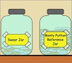 Better than a swear jar...