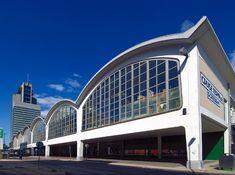 Aankomsthal/Cruise Terminal Holland-Amerika Lijn  - bewri ((Brinkman, Van den Broek & Bakema)