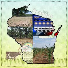 do this for each state we have lived in or for those we visited!