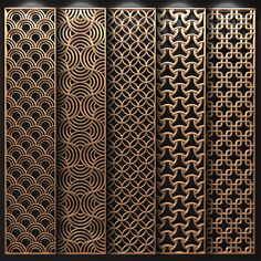 models: Other decorative objects - Decorative partition Laser Cut Screens, Laser Cut Panels, Window Grill Design, Door Design, Pattern Wall, Pattern Design, Jaali Design, Cnc Cutting Design, Wooden Screen Door