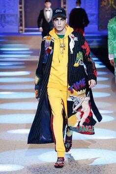 Dolce Gabbana, Automne/Hiver 2018, Milan, Menswear
