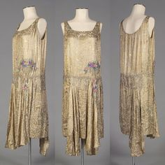Evening dress, ca. mid 1920s Kent State University Museum