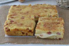 TORTA di PATATE FACILISSIMA Quiche Lorraine, No Salt Recipes, Cooking Recipes, Nutella, Buffet, Antipasto, Frittata, Bon Appetit, Biscotti