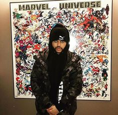 #TheWeeknd at #Marvel in NY.