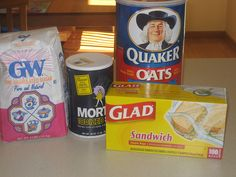 Make your own Homemade Oatmeal Packets