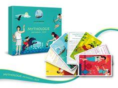 Un magnifique jeu de société de Sylvie de Soye pour découvrir ou redécouvrir la Mythologie. Un jeu distribué par Sandra Moreira Editions