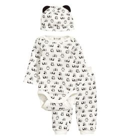 Jersey Set | White/WWF | Kids | H&M US