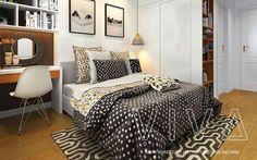 Thiết kế và thi công nội thất chung cư Linh Đàm tiện nghi