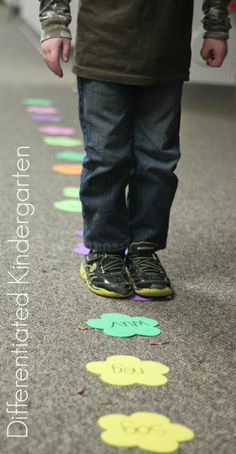 A Differentiated Kindergarten: Get 'em Moving With Nonsense Word Fluency Fun From A Differentiated Kindergarten
