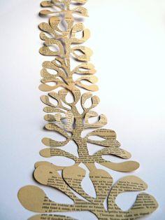 Christmas Yule Mistletoe Garland by OKIFOLKI on Etsy, £15.00