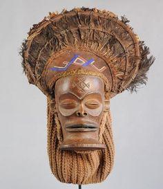 Masque Tschokwe - Chokwe Cihongo mask - Congo - Tshokwe - MC0627