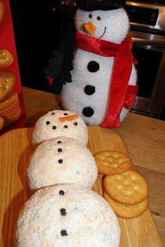 Cheese ball ---LOL!!! this is a must-bring to my family christmas :)