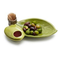 Look what I found at UncommonGoods: Olive Server for $45 #uncommongoods
