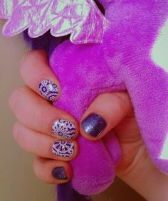 My latest Jamicure!  You can have funky nails too with no wait time on the drying nails.  My son loves this combo and picked out my photo prop.  #nailart #nails #nailswag #jamberry