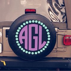 monogram jeep tire covers - Google Search