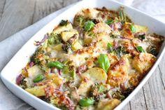 Met Deze Heerlijke Broccoli Met Kip Ovenschotel Zit Je Altijd Goed! Eenvoudige Bereiding, Gezond En Lekker!