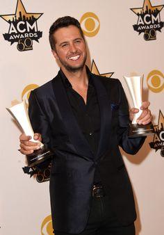 Luke Bryan Photos - 50th Academy Of Country Music Awards - Arrivals - Zimbio