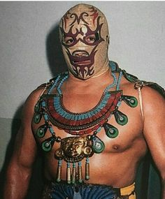 Wrestling Costumes, Mexican Wrestler, Aztec, Wwe, Character Design, Toys, Wave, Happy, Two Faces