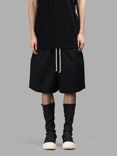 RICK OWENS Rick Owens Men'S Megashorts. #rickowens #cloth #shorts