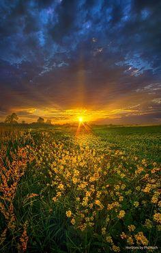 Summer Sunset ~ Marvelous Nature