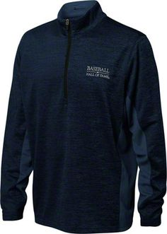 Baseball Hall of Fame Navy Heathered Pullover