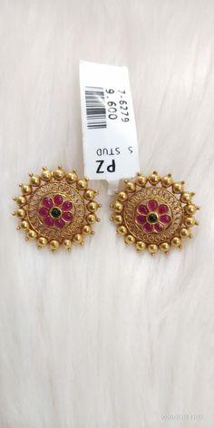 Ear Cuff Jewelry, Jewelry Design Earrings, Gold Earrings Designs, Jewlery, Antique Jewellery Designs, Gold Ring Designs, Gold Bangles Design, Gold Necklace Simple, Gold Jewelry Simple