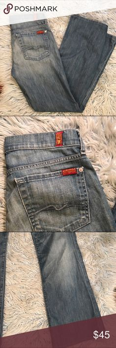 Seven For All Mankind Bootcut Jeans These seven for all mankind jeans are in great condition they are boot cut. 7 For All Mankind Jeans Boot Cut
