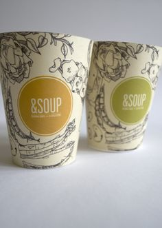 Soup by Erin Welch, via Behance