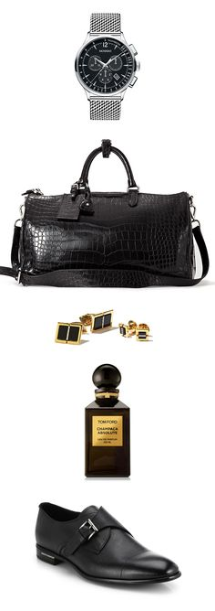 Give him the best of the best this year with the luxurious accessories for the dapper gentleman!