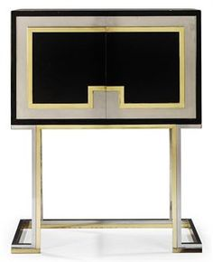 A MAISON JANSEN CABINET ON STAND | CIRCA 1970 | Interiors Auction | 1970s, Furniture & Lighting | Christie's