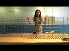 Here is a quick tutorial of how I build my own gabion walls from standard concrete remesh and galvanized wire. They are simple to build and can be filled wit...