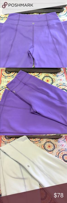 Reversible Lululemon Yoga Pants Reversible Yoga Pants ✔️ Great condition ✔️Like new-only worn a couple times✔️No stains, snags or pilling ✔️Happy Poshing!! 🌺😎❤️ lululemon athletica Pants Leggings