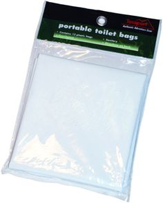 Replacement Bags for Portable Folding Toilet