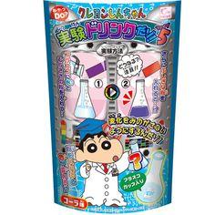 Crayon Shin-Chan Drink Experiment - Cola
