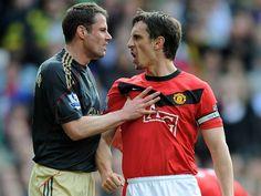 Jamie Carragher trolls Gary Neville during England coach's picture tour of Turin http://ind.pn/1NCB8WZ