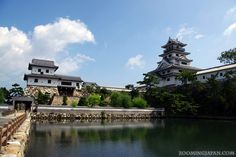 Japanese castles I've visited: #32 Imabari Castle in Ehime Prefecture. Right next to the ocean, I really liked this castle. Read more over at my blog: http://zoomingjapan.com/travel/imabari-castle/