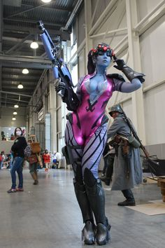 Tagged with cosplay, latex, cosplay girls, overwatch, widowmaker; Ten-san as Widowmaker (Overwatch) at Comic Con 17 Anime Cosplay, Cute Cosplay, Amazing Cosplay, Cosplay Outfits, Best Cosplay, Cosplay Girls, Avatar Cosplay, Cosplay Style, Steampunk Cosplay