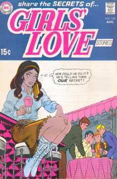 Girls Love Stories 145  #our secret #romance #comics