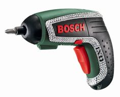 This is a girls type of power tool. Swarovski drill.
